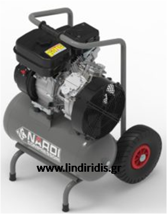 NARDI OIL-FREE GASOLINE AIRCOMPRESSORS 10 BAR | ΛΥΝΤΙΡΙΔΗΣ ΕΜΜ  ΕΠΕ